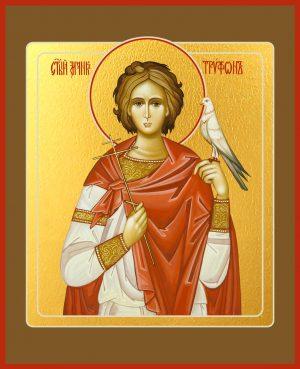 купить икону Трифона мученика