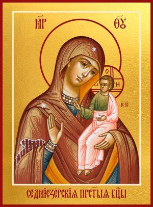 купить Седмиезерную икону Божией Матери