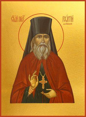 купить икону Георгия Даниловского, преподобного чудотворца