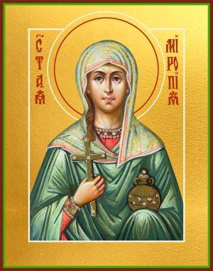 купить икону святой Миропии Хиосской