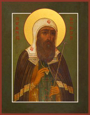 купить икону святого Ермогена, Патриарха Московского и всея Руси, святителя