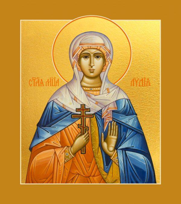купить икону святой Лидии мученицы
