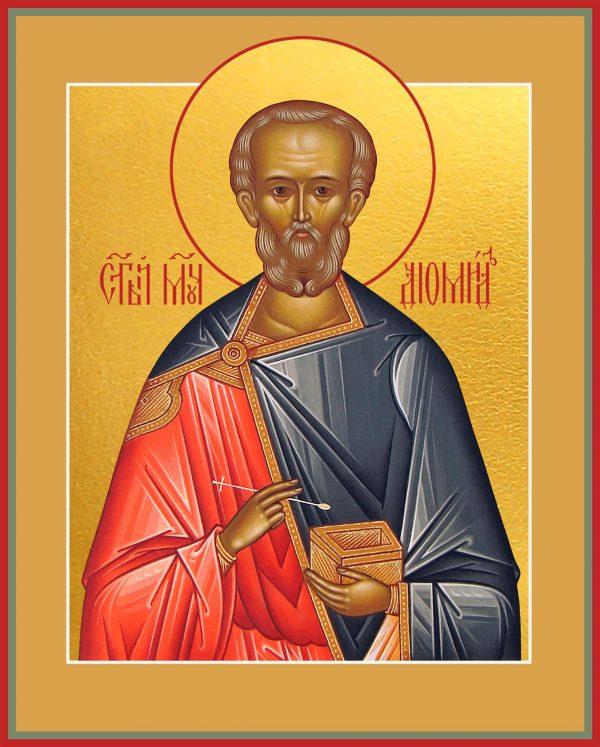 купить икону святого Диомида Тарсянина, Никейского, врача, мученика