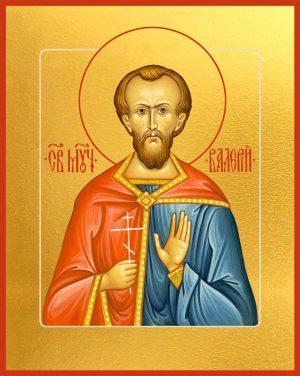 купить икону святого Валерия Мелитинского мученика