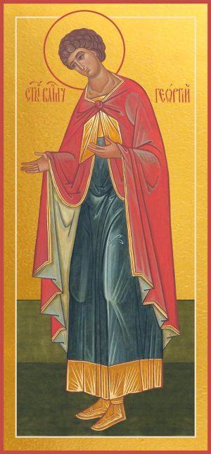 купить икону Георгия Победоносца великомученика