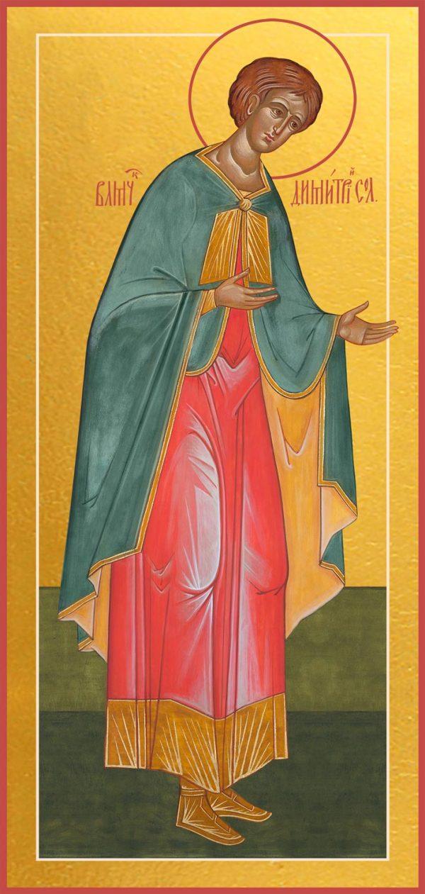 купить икону Дмитрия Солунского
