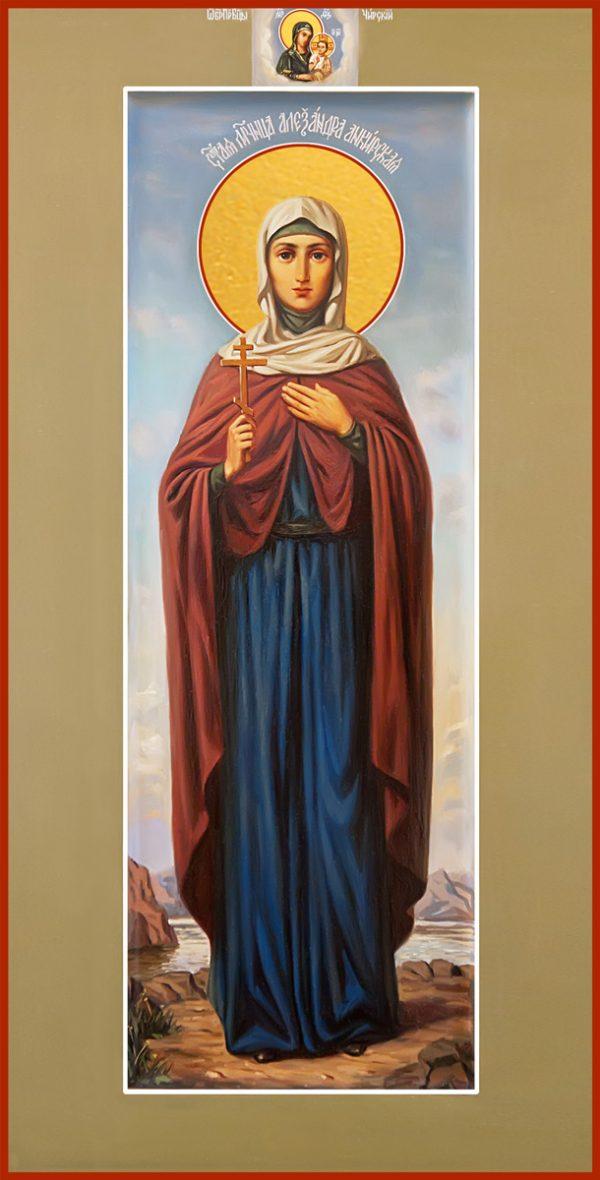 купить икону святая Александра Анкирская (Коринфская)