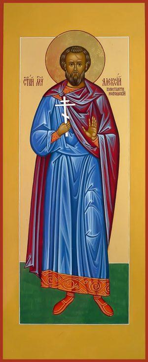 купить икону святой Алексий Константинопольский