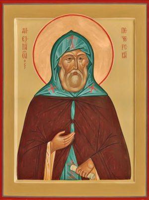 купить икону Алексий Печерский