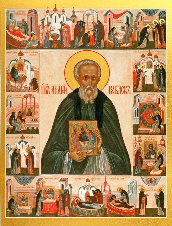 купить икону Андрей Рублев