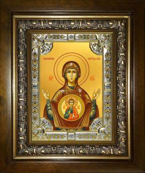 купить икону Божьей Матери Знамение