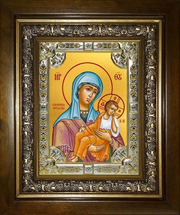 купить икону Божьей Матери Старорусская