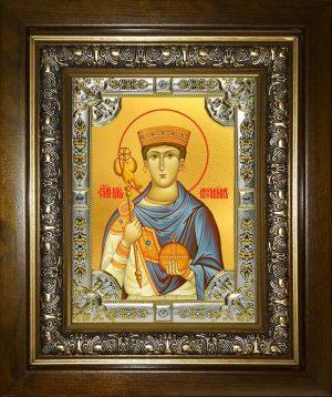 купить икону святой Иустиниан царь