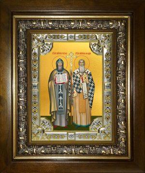 купить икону святые Кирилл и Мефодий
