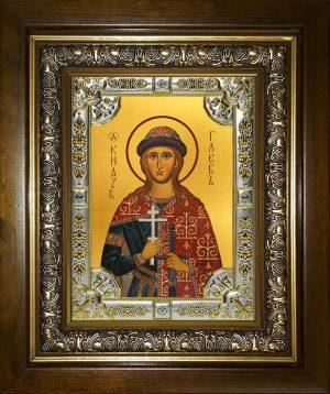 купить икону святой Глеб князья