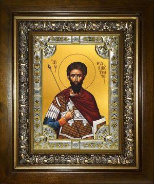 купить икону святой Каллистрат мученик