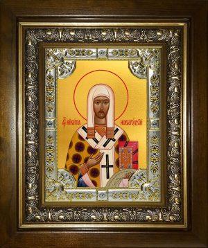 купить икону святой Никита Новгородский