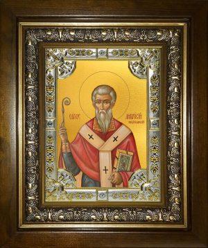 купить икону Амвросий Медиоланский, святитель
