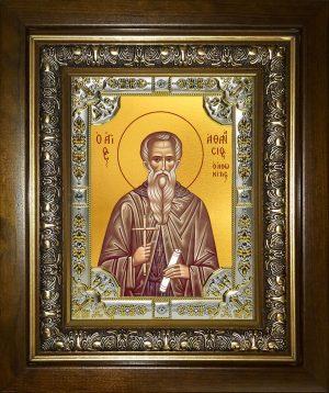 купить икону Афанасий Афонский преподобный