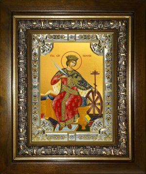 купить икону святая Екатерина великомученица