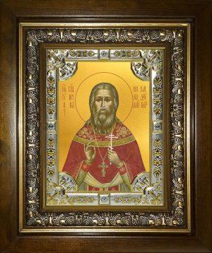 купить икону святой Николай Кандауров