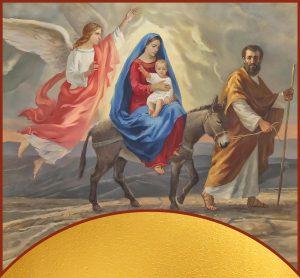 купить икону Бегство в Египет