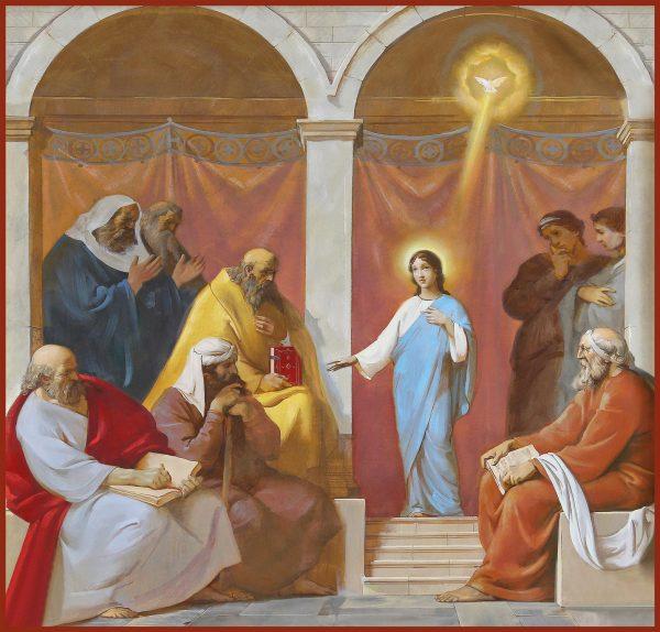 Купить икону Отрок Христос во Храме