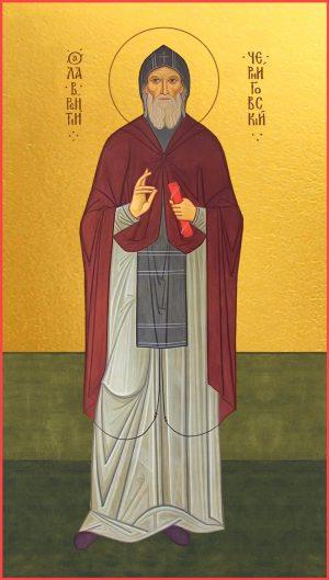 купить икону святого Лаврентия Черниговского