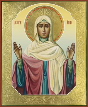купить икону святой Анны праведной