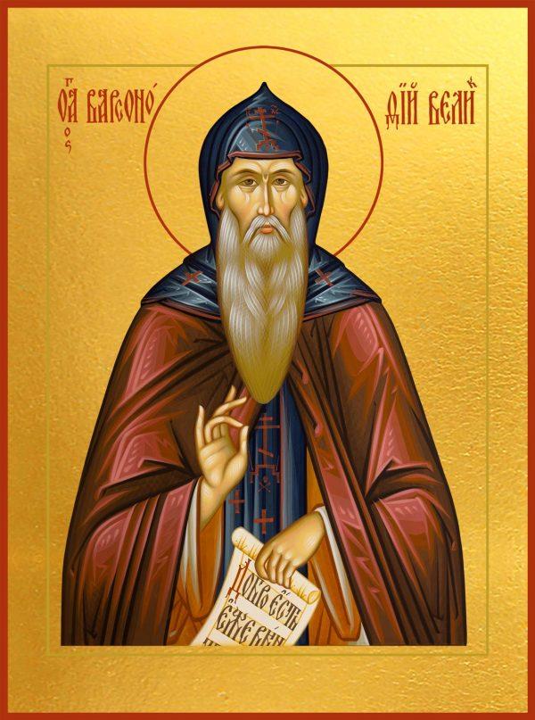 купить икону святого Варсонофия Великого, преподобного