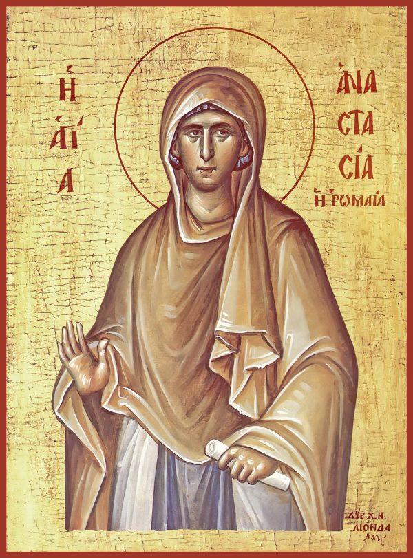 купить икону святой Анастасии Римляныни, преподобномученицы
