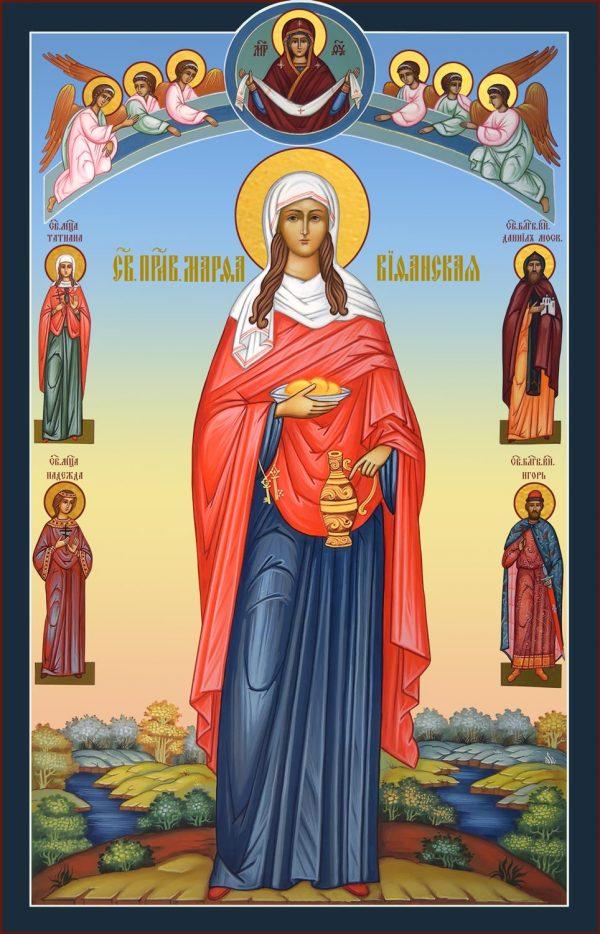 купить икону святой Марфы Вифанской праведной