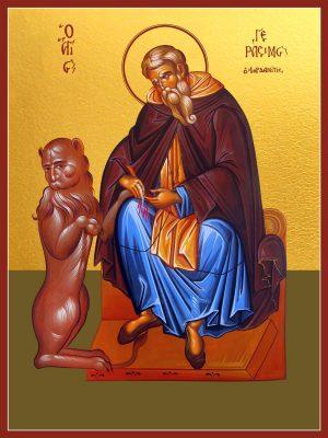 купить икону святого Герасима Иорданского