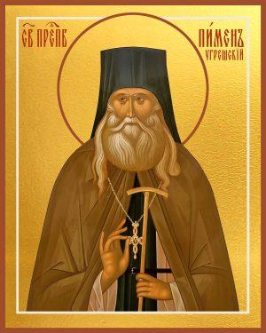 купить икону святого Пимена Угрешского (Мясникова)