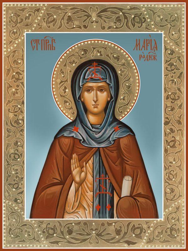 купить икону святой Марии Радонежской преподобной