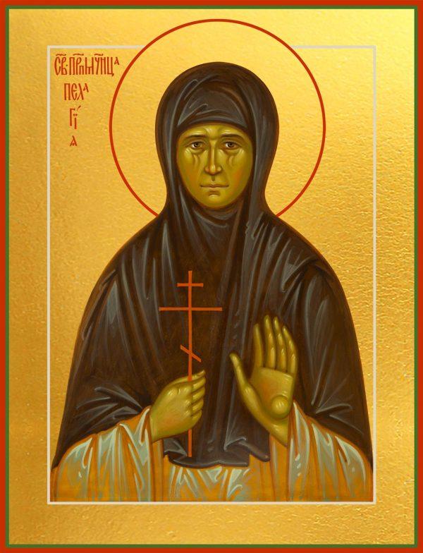 купить икону святой Пелагии Тестовой, Преподобномученицы