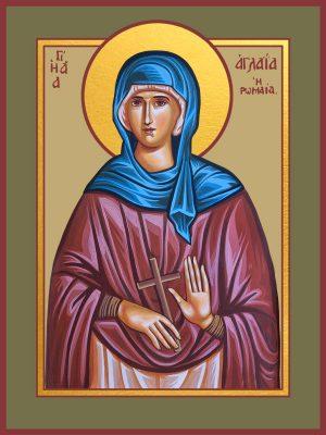 купить икону святой Аглаиды Римской