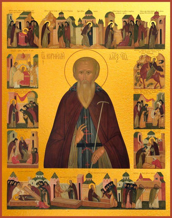 купить икону Корнилия Александровского
