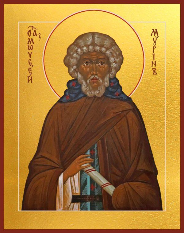 купить икону святого Моисея Мурина
