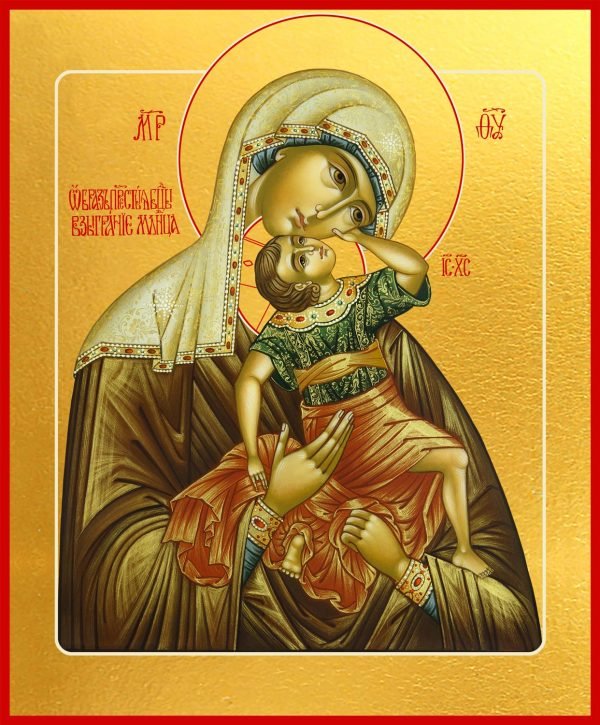 купить икону Божьей Матери Взыграние Младенца