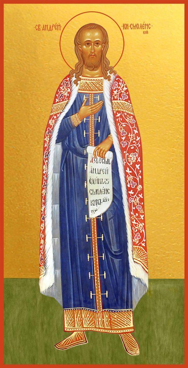 купить икону святого Андрея Смоленского