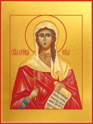 купить икону святой Виктории (Ники) Коринфской