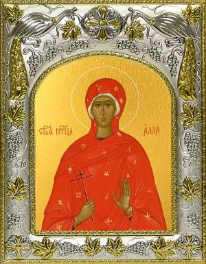купить икону Алла Готфская мученица