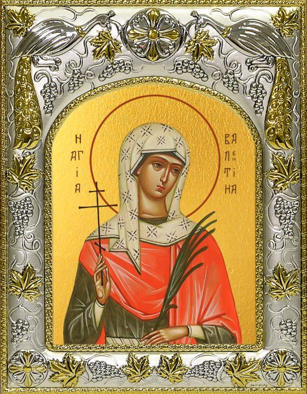 купить икону Валентина Кесарийская
