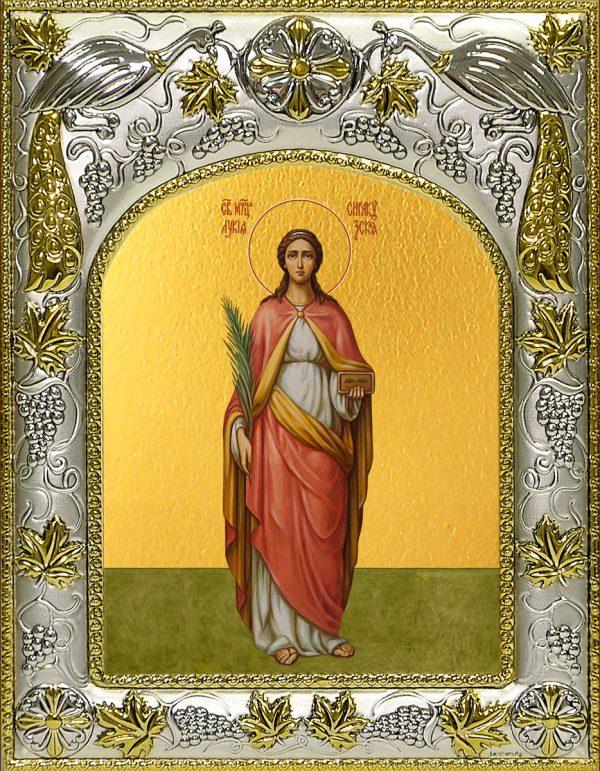 купить икону святая Лукия Сиракузская