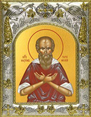 купить икону святой Максим Тотемский