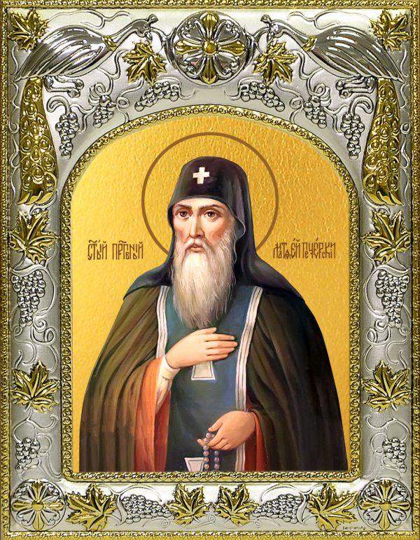купить икону святой Матфей Печерский