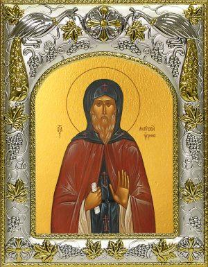 купить икону святой Моисей Угрин, Печерский