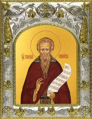 купить икону святой Григорий Синаит