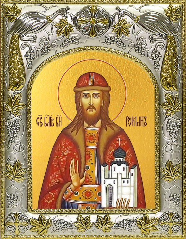 купить икону святой Роман Рязанский